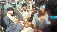 الجيش الوطني يعلن أسره 300 من مسلحي الحوثي في جبهات الضالع