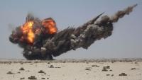 غارات عنيفة للتحالف على قاعدة الديلمي الجوية في صنعاء
