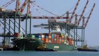 150 ألف حاوية تصل ميناء الحاويات في عدن خلال الثلث الأول من العام الجاري