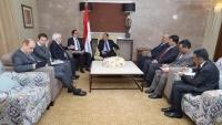 نائب الرئيس يلتقي المبعوث الأممي إلى اليمن