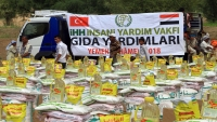هيئة الإغاثة التركية تواصل تقديم مساعداتها في اليمن