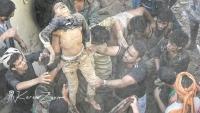 مقتل أسرة بكامل أفرادها إثر غارة للتحالف على منزل سكني وسط صنعاء