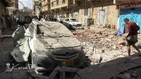 77 قتيلا وجريحا حصيلة قصف التحالف حي سكني بصنعاء