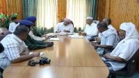 اجتماع في سيئون لمناقشة أوضاع الدفاع المدني بوادي حضرموت