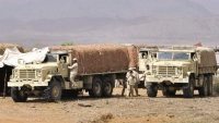 أبناء المهرة يعترضون قوات عسكرية سعودية كانت في طريقها إلى شحن