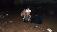 تقرير حكومي: تضرر 1529 أسرة نازحة من الامطار والسيول في ثلاث محافظات