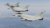 مقاتلات التحالف تستهدف مواقع جماعة الحوثي في حجة