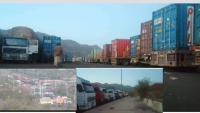 الحوثيون يحتجزون أربع شاحنات تحمل محاليل خاصة بمركز الغسيل الكلوي في إب