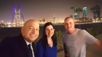 في البحرين وأشرب البيرة اللبنانية.. صحفيون إسرائيليون يحتفلون بالشرق الأوسط الجديد