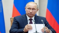 بوتين: اتفقنا مع السعودية على تمديد اتفاق أوبك لخفض إنتاج النفط