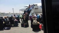 نجاة ركاب طيران اليمنية بعد إقلاعها من مطار القاهرة بسبب خلل فني بمحركها