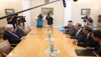 جريفيث من موسكو: عقدت اجتماعاً مثمراً مع وزير الخارجية الروسي