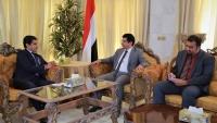 دبلوماسي أمريكي يؤكد دعم بلاده لحل شامل في اليمن وفقا للمرجعيات الثلاث