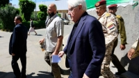بعد ساعات من لقائه الرئيس هادي.. غريفيث يلتقي زعيم الحوثيين