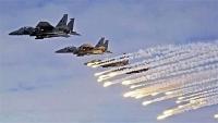 التحالف يستهدف مواقع وتعزيزات للحوثيين شمال الضالع