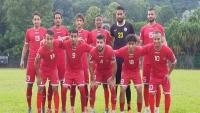 المنتخب اليمني يواجه نظيره الفلسطيني في بطولة غرب آسيا
