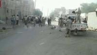 إصابة مدنيين بينهم ثلاث نساء وطفلة بانفجار عبوة ناسفة في أبين