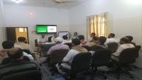 مكتب الشؤون الإجتماعية بحجة يعقد اجتماعه الثاني بمنظمات المجتمع المدني
