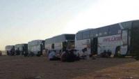 حجاج يمنيون يشكون تعنت الجانب السعودي بمنفذ الوديعة وتأخيرهم في الدخول