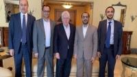 وفد جماعة الحوثي يبحث مع نائب المبعوث الأممي تنفيذ اتفاق الحديدة