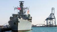 """قائد فرقاطة بريطانية يقول إن إيران تحاول """"اختبار"""" عزيمة بلاده في الخليج"""