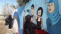 العراق.. فنانتان حولتا شوارع وجدران مدينتهما للوحات فنية