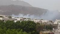 مؤسسة المياه بعدن: توقف ضخ المياه إلى جبل حديد بسبب مغادرة العمال جراء القصف