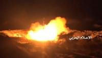 جماعة الحوثي تعلن قصفها مواقع عسكرية سعودية بسبعة صواريخ باليستية