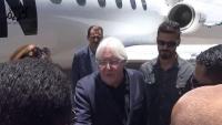 جريفيث يصل صنعاء ضمن مساعيه لتطبيق اتفاق السويد