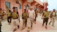 الحزام الأمني بعدن يعلن إرسال كتيبتين من اللواء الخامس لتعزيز الانتقالي في شبوة