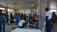 """""""أطباء بلا حدود"""" تستقبل 51 قتيلا وجريحا في عدن"""
