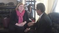 سفيرة الاتحاد الأوروبي: حزينة على رؤية اليمن منقسما أكثر من ذي قبل