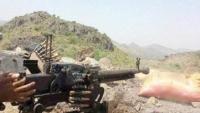 تجدد المواجهات بين الجيش الوطني والحوثيين غربي الضالع