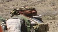 هجوم حوثي على مواقع القوات الحكومية في جبهة ثرة بأبين