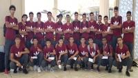 المنتخب الوطني لناشئي كرة القدم يتوجه إلى الدوحة لخوض تصفيات آسيا