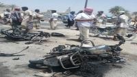 مجهولون يحرقون دراجة نارية لداعية سلفي في حضرموت