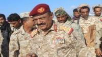 الدفاع اليمنية توقف التعامل مع قائد المنطقة العسكرية الرابعة