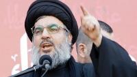 """""""نصرالله"""" للسعودية: حل التوتر بالمنطقة إنهاء الحرب باليمن"""