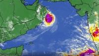 """الأرصاد اليمني: إعصار """"هيكا"""" يقترب من سواحل المهرة وسقطرى"""