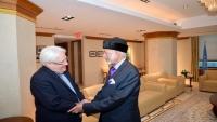 غريفيث: عُمان تلعب دورا أساسيا في حل  الأزمة اليمنية