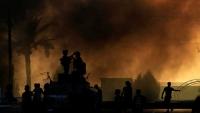 حظر للتجول في بغداد وإغلاق المنطقة الخضراء لمنع المتظاهرين من اقتحامها