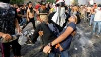 """""""حقوق الإنسان"""" العراقية: مقتل 37 شخصاً في الاحتجاجات"""