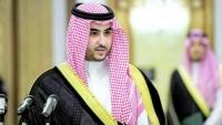 """محمد بن زايد يبحث مع خالد بن سلمان """"الشؤون الدفاعية والعسكرية"""""""