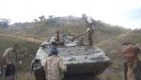 تواصل المعارك في الضالع والجيش يحرر معسكر الجب شمال قعطبة
