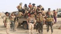 الجيش الوطني يحكم السيطرة على الخط الدولي الرابط بين كتاف والبقع