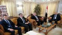 اليمن يبحث مع تركيا تخصيص منح للدراسات العليا وفتح معهد للغة التركية