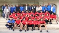 الرياضة تكرم المنتخب الوطني للشباب بعد تأهله لنهائيات آسيا