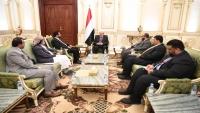 الرئيس هادي: إقليم سبأ أصبح واقعا يتجسد على الأرض