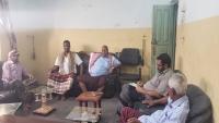 قيادة أحزاب اللقاء المشترك بالمهرة تعقد اجتماعها الدوري وتؤكد على وحدة الصف المهري