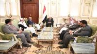 مرجعيات حضرموت تؤكد دعمها للرئيس هادي ولمشروع اليمن الاتحادي